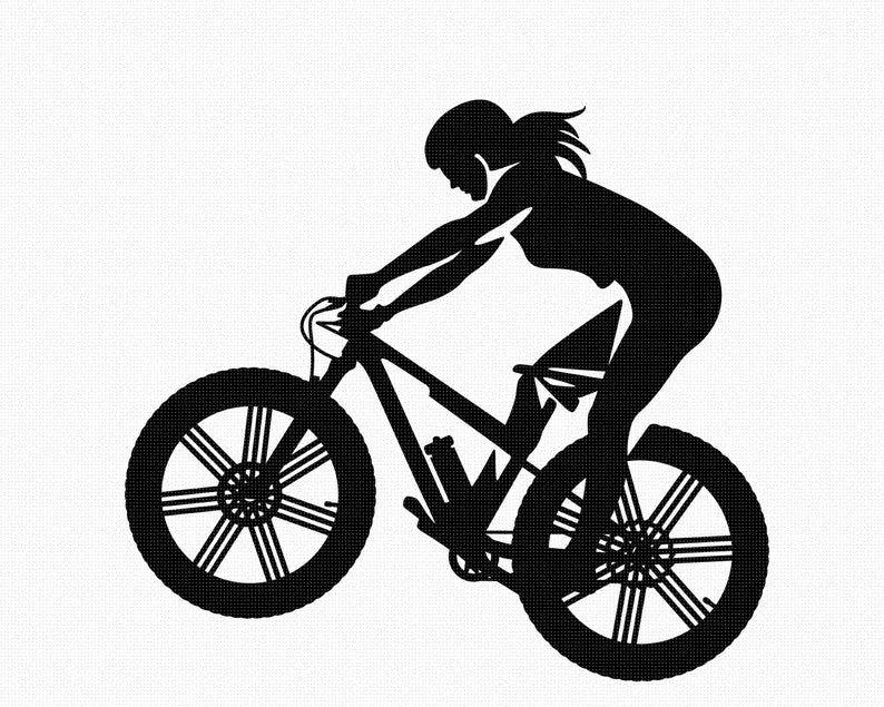 Atmosphere Silhouette Mountain Bike Poster Background Bike Poster Mountain Biking Background Images