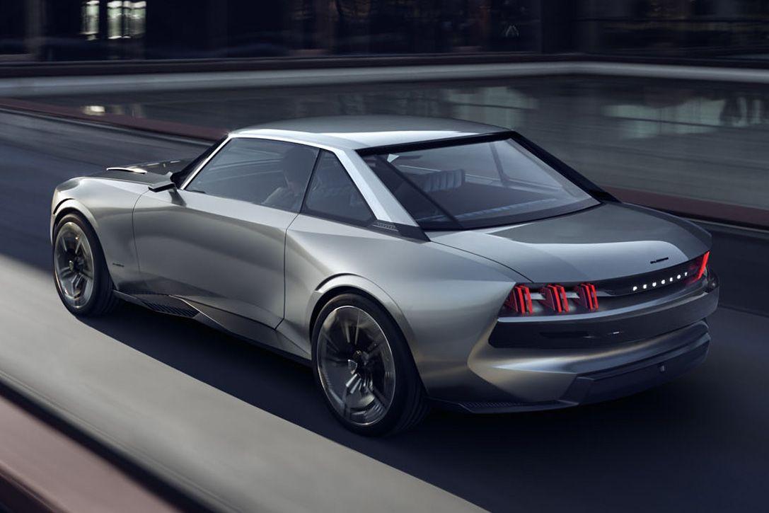 Peugeot E Legend Electric Concept Hiconsumption Cars Pinterest