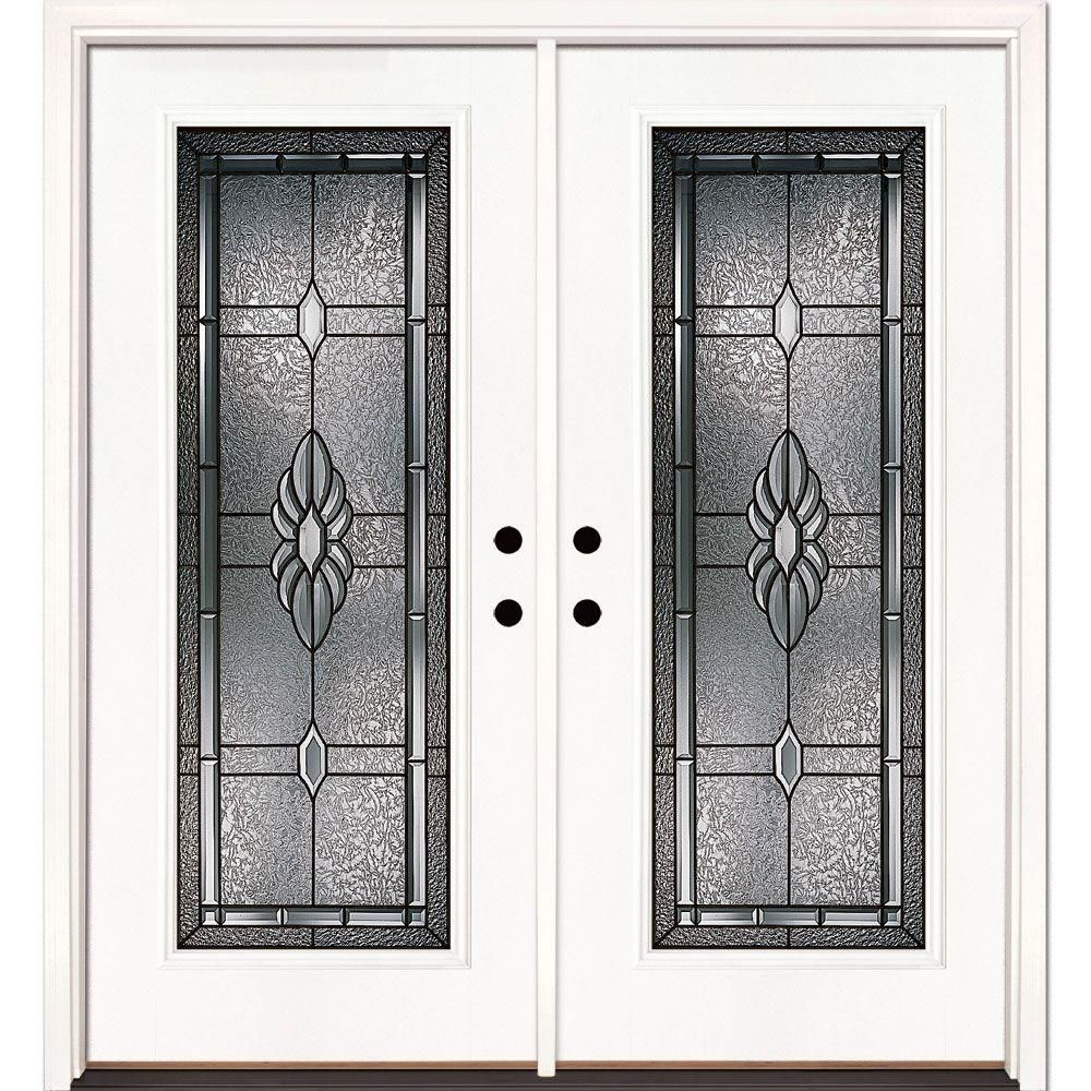 Feather River Doors 74 in. x 81.625 in. Sapphire Patina Full Lite ...