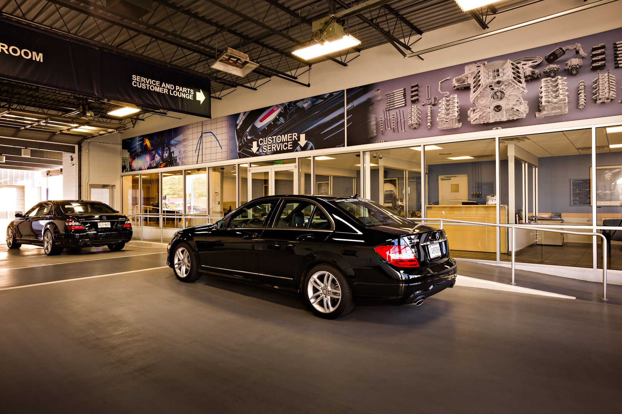 Mercedes Of Hunt Valley >> Our Service Lane Mercedes Benz Of Hunt Valley Mercedes Benz