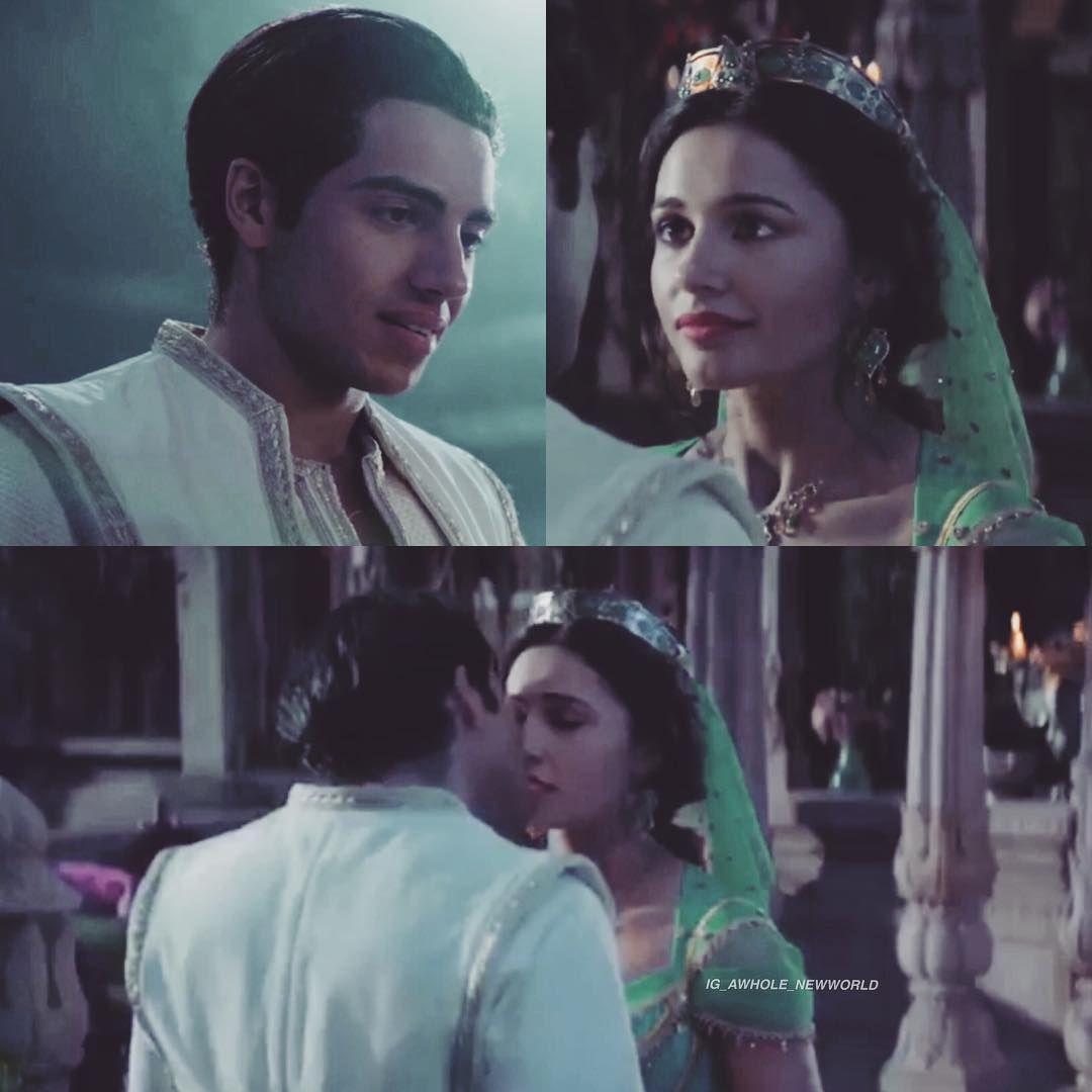 First Kiss Scene Friendlikeme Aladdin Aladdinmovie2019