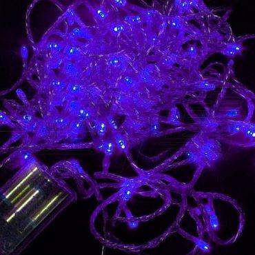 80 Purple LED Battery Powered String Light Deb Ball Pinterest