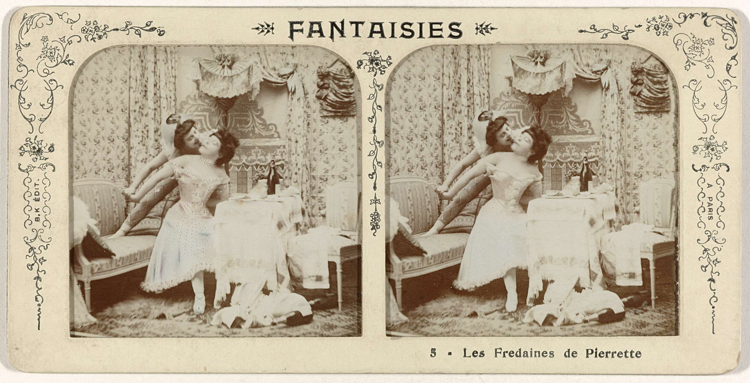 Adolphe Block | Fantaisies Les Fredaines de Pierrette, no. 5, Adolphe Block, 1855 - 1920 |