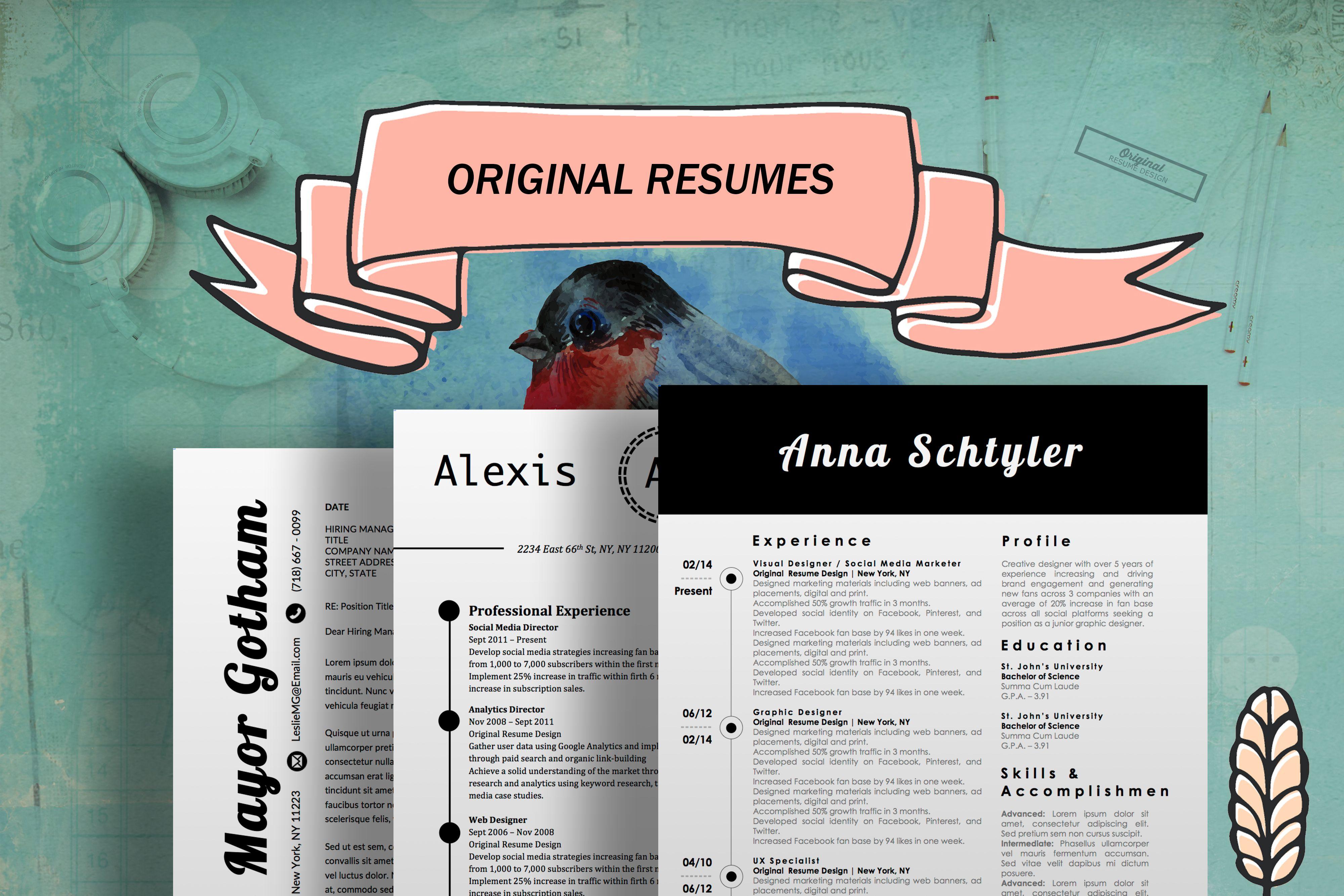 original resumes