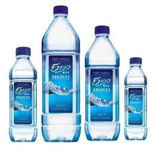 Evian, Volvic, and Perrier have long dominated the high-end