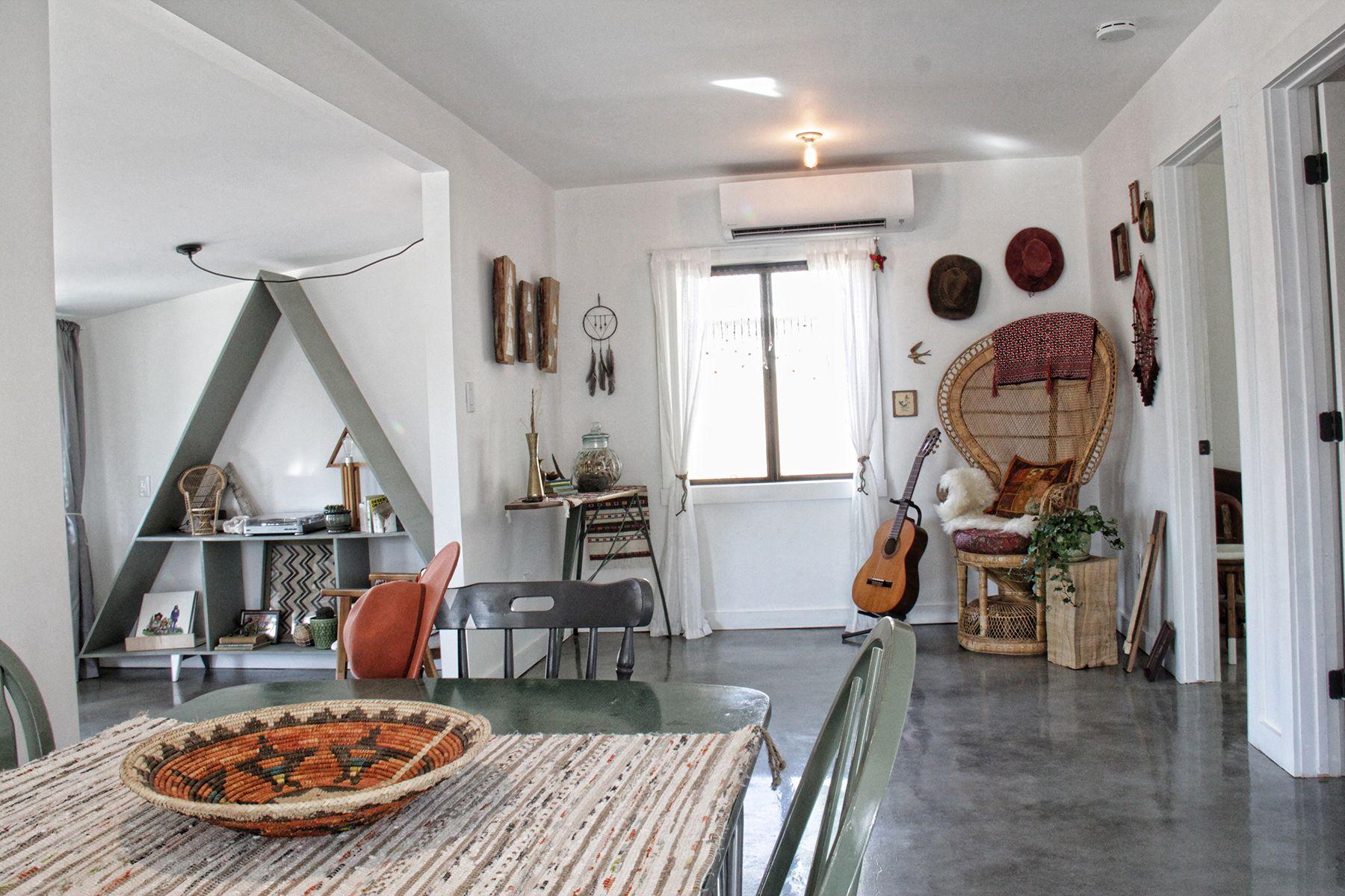 Stoere Bohemien Bungalow : Modern bohemian interior @theluxeboheme bohemian interiors