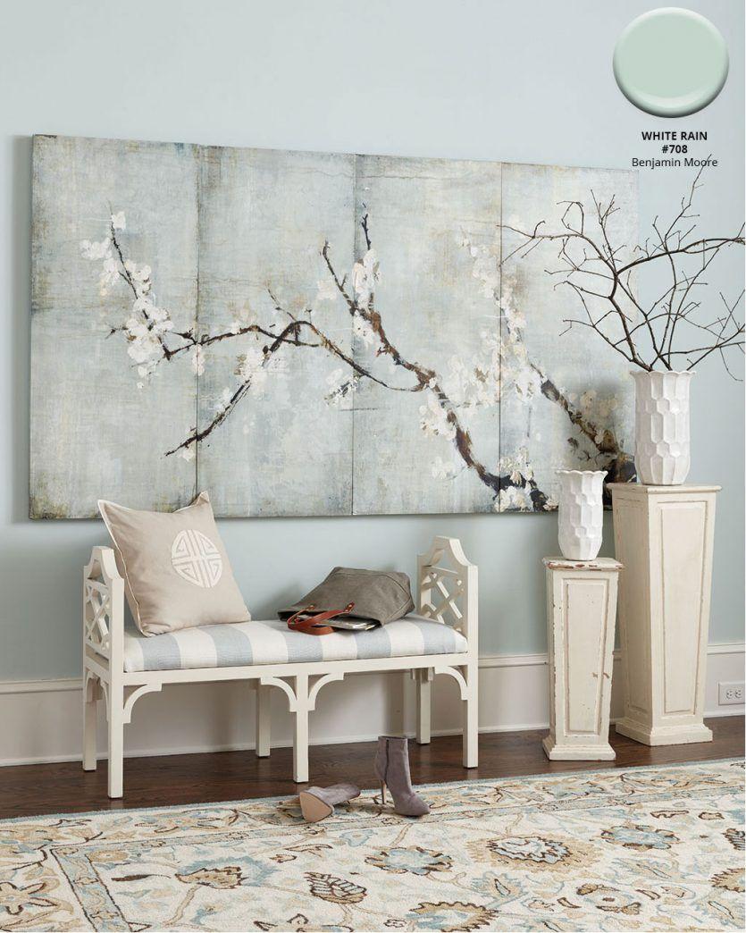 Fall 2018 Catalog Paint Colors | Light blue walls, Blue ...