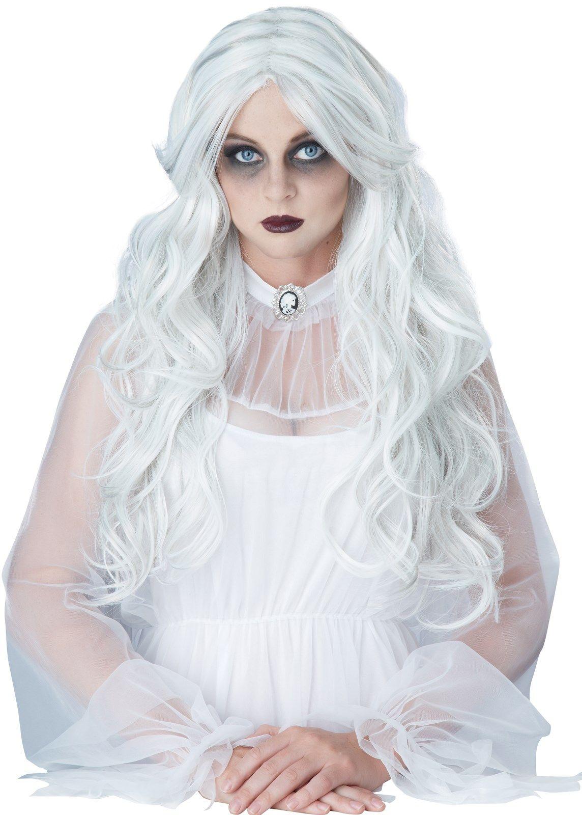 Ghost Wig For Adults,GhostAdultsWig Halloween costume