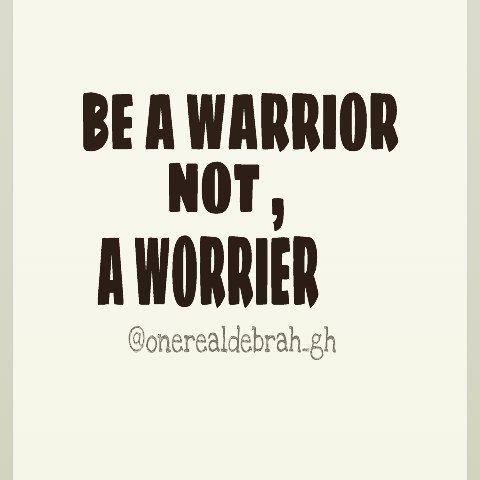 Warrior mindset .. positivity over negativity .. dont worry .. keep moving .. @onerealdebrah_gh #goodmorning #GH #like #instagood #photooftheday #inspire #cool #entrepreneur #nice #look #f4f #tagsforlikes #tagapal #cute #me #love #wcw #new #day #sun #follow #followus #followme by onerealdebrah_gh