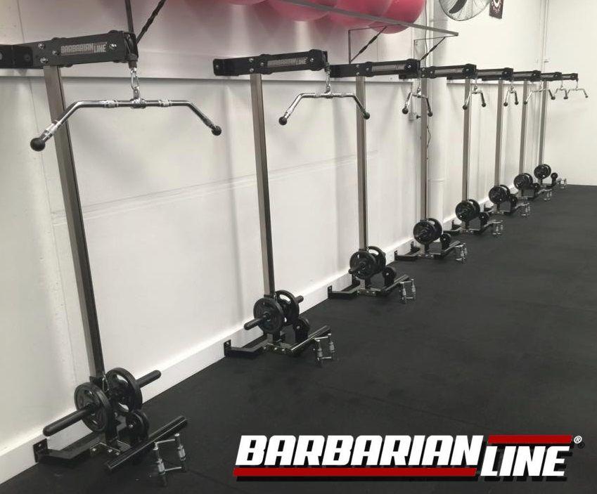 Barbarian Wall Mounted Lat Pulldown Home Made Gym Diy