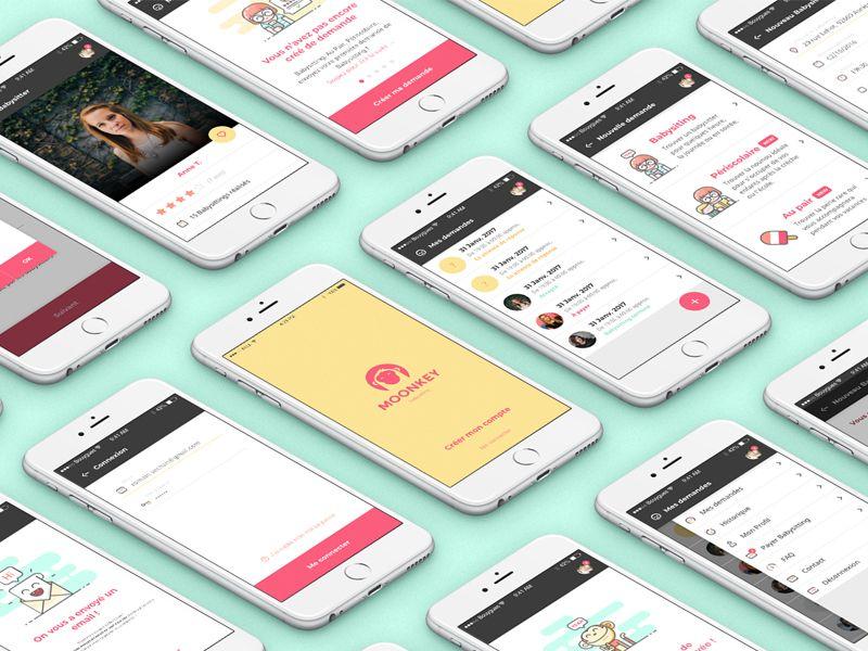 Babysitting App Design