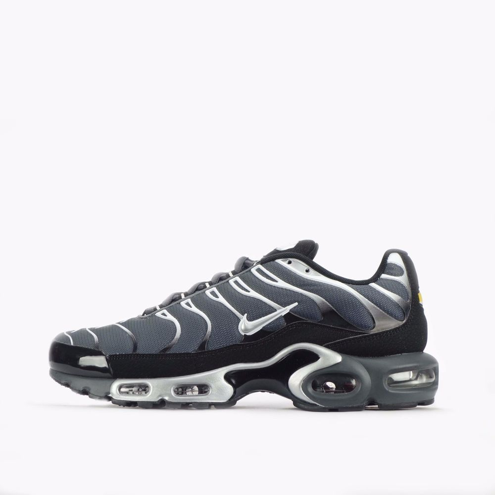 0f3646049a Nike Air Max Plus TN Tuned Men's Shoes in Dark Grey/Silver #Nike  #CasualTrainers