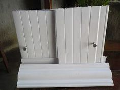DOORS WITH REMAINING PVC FOR TANKS AND SINKS MAKE YOU ME…