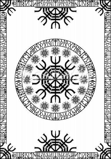 Runic Viking Pattern Runes Pinterest Vikings Patterns And Runes Magnificent Viking Patterns