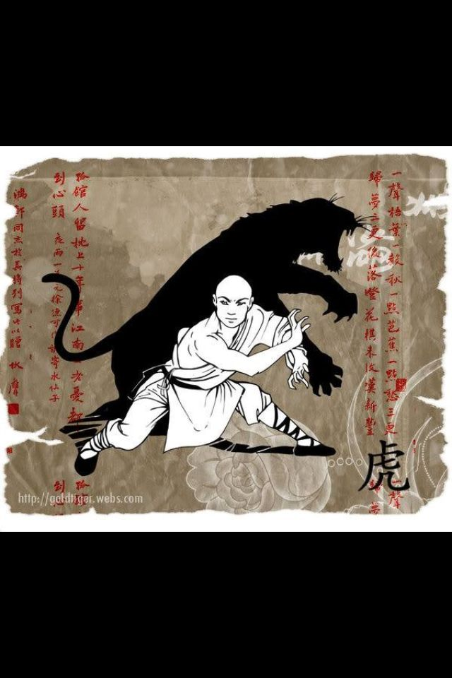 The Tiger is to me the most important animal of the Hung Gar Kung Fu System. The Tiger does not back down, the tiger is fierce, agile, fast, very strong, deadly and elegant. By Disciple Gerardo Larrea French from the Florida Hung Gar System.