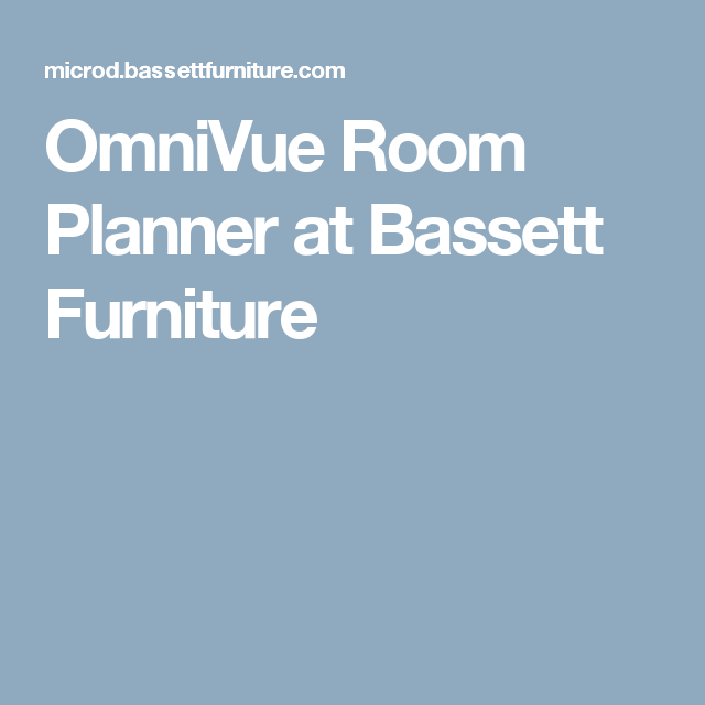 OmniVue Room Planner At Bassett Furniture Floor Planner, Living Room Tv,  Rooms, Flooring