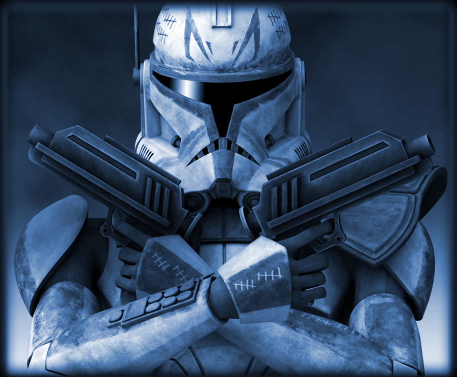 Captain Rex Phase 2 With Effects Star Wars Helmet Star Wars Images Star Wars Humor