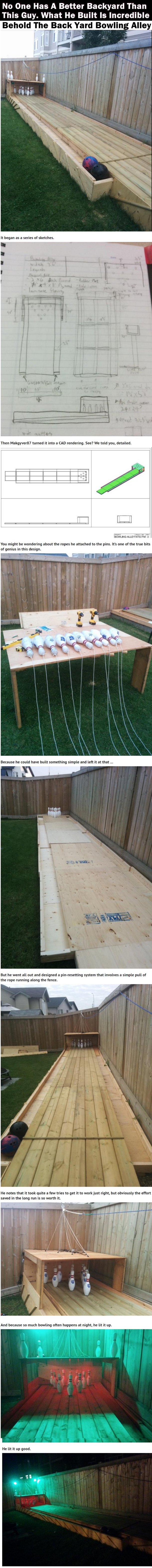 What This Guy Built In His Backyard Is Incredible All Of The Neighbors Are Jealous Of This Backyard Lap Pools Backyard The Incredibles
