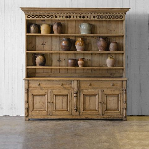 Pine Buffet Cabinet Ralph Lauren Home Large Inspired By A 19th