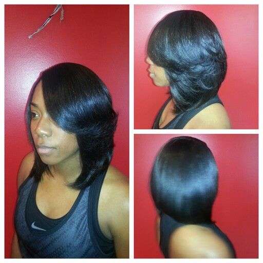 sewin weave long bob layerssew in hair styles for