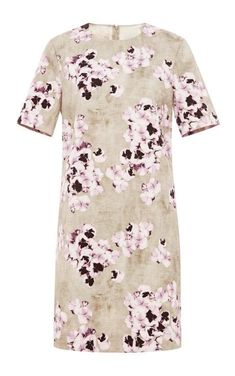Floral-Print Dress by Giambattista Valli Now Available on Moda Operandi