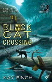 Sapphyria's Book Reviews: #Book Review ~ Black Cat Crossing  (A Bad Luck Cat...