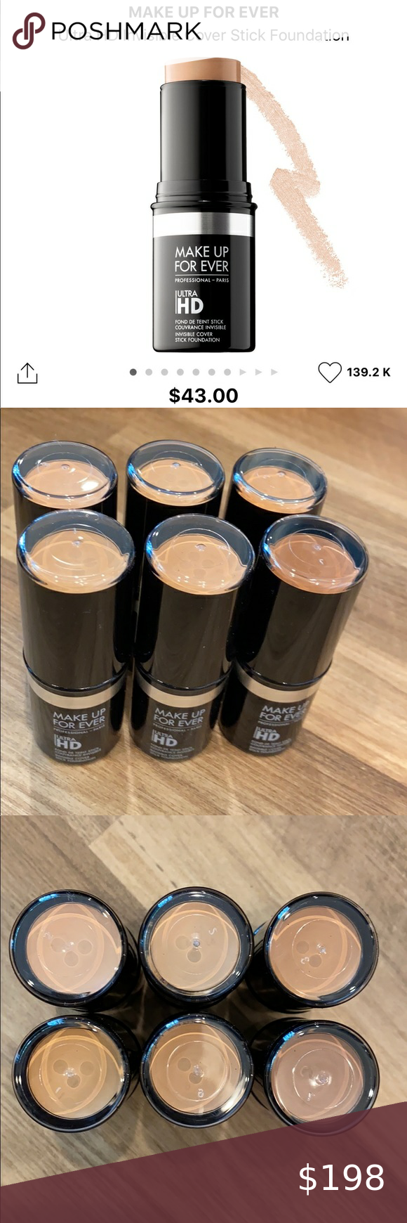 Makeup Forever HD Ultra Stick Foundation Bundle in 2020