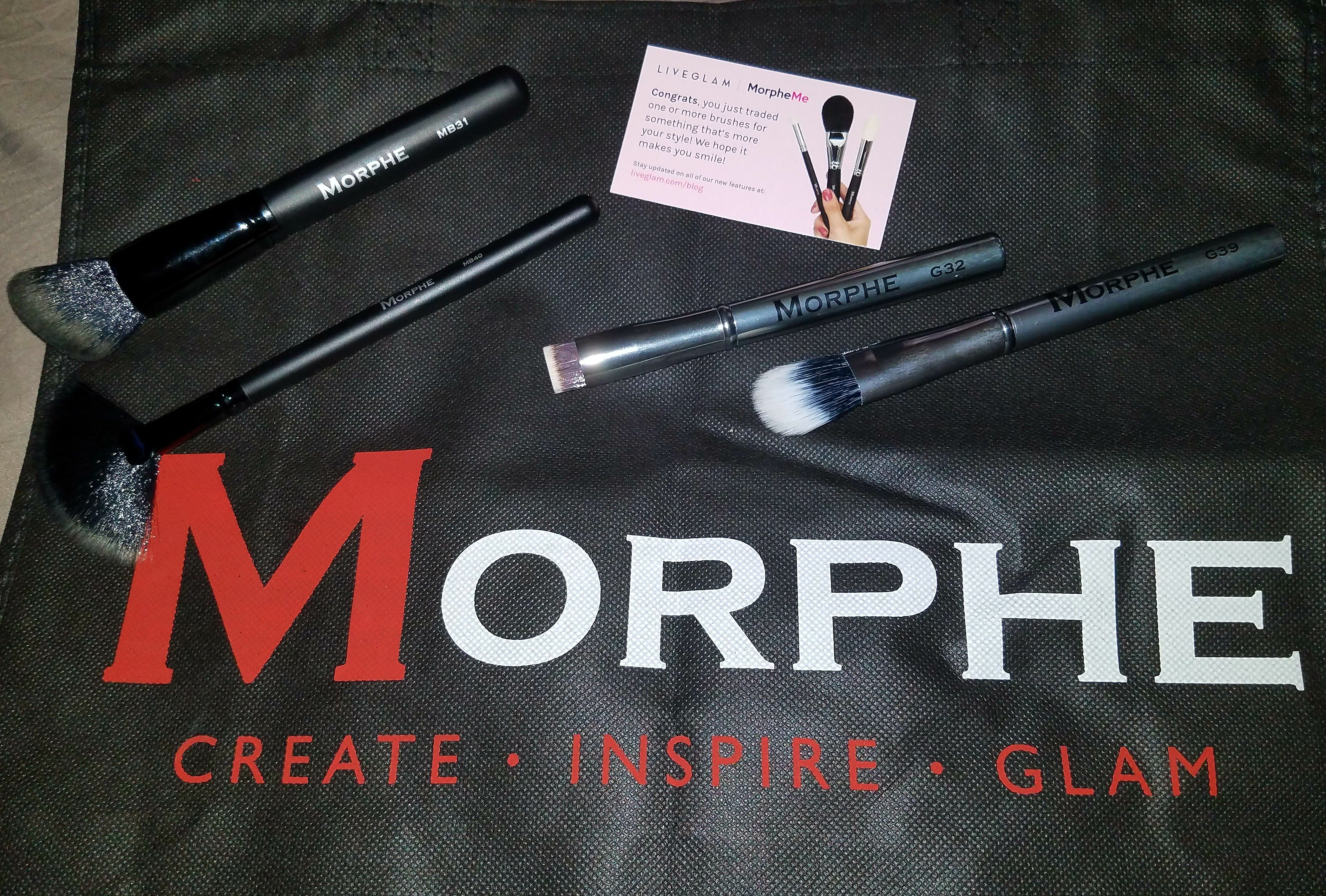So once again I have opted to trade in my brushes, the January's Morphe brushes where nice but I have similar ones. The brushes I picked are the Flawless Collection. I also redeemed 200 point…