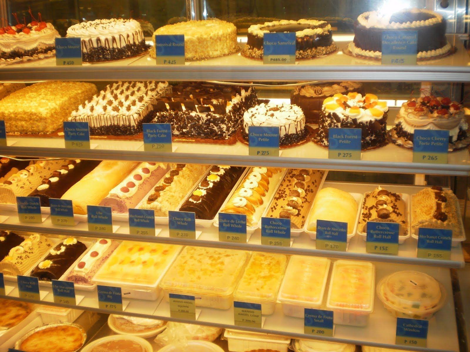 Goldilocks Bakery Bake Shop Philippines Buying Birthday Cake ...