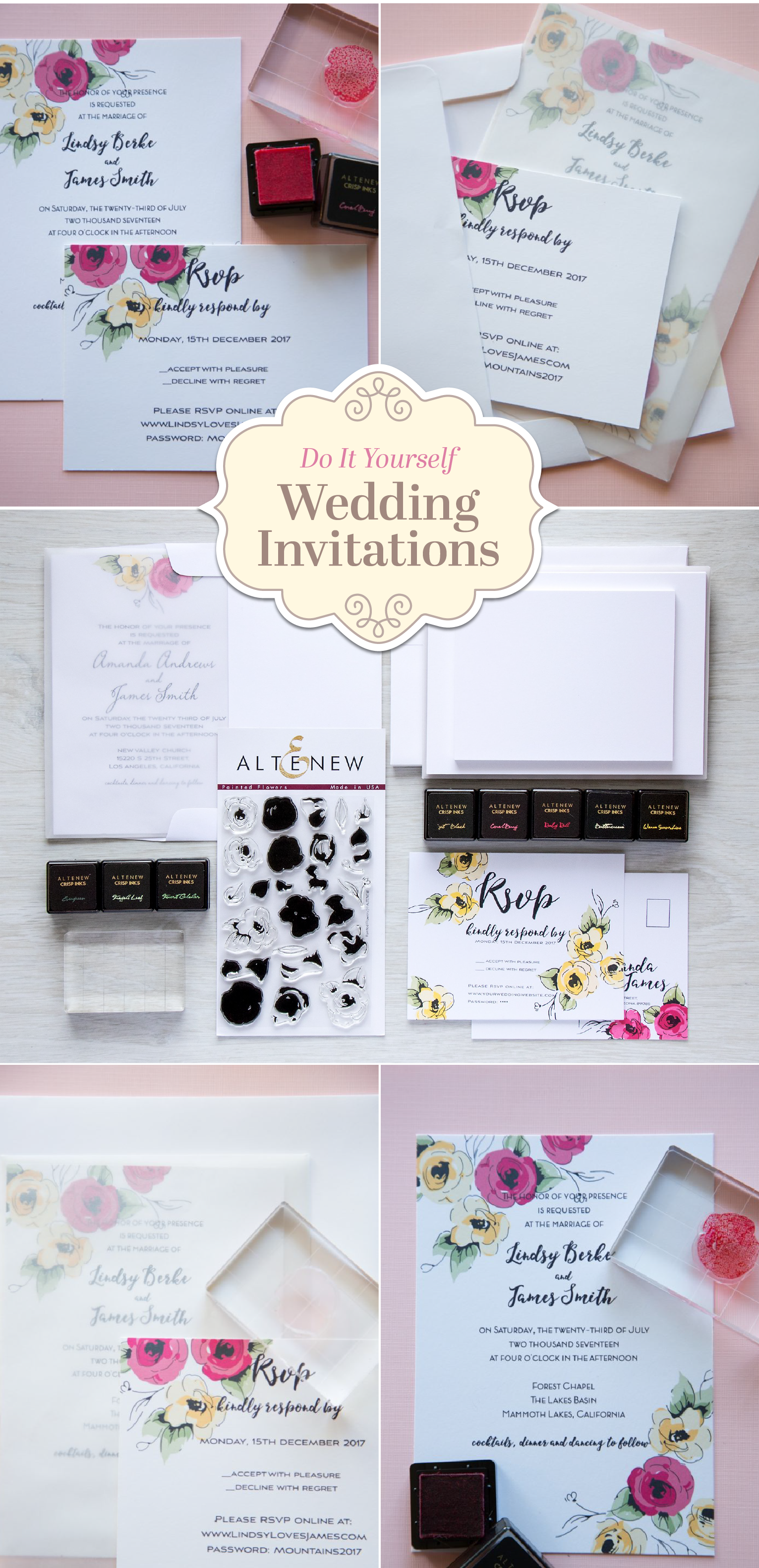 Create your personalized wedding invitations using our newest ...