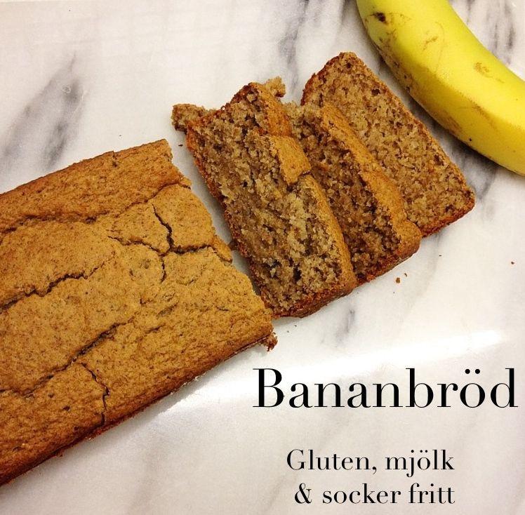 bananbröd utan mjöl