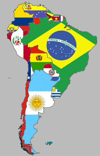 South America At A Glance South America South America Map South America Learning Spanish