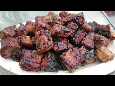 Photo of Grilled Teriyaki Pork Riblets – The Wolfe Pit