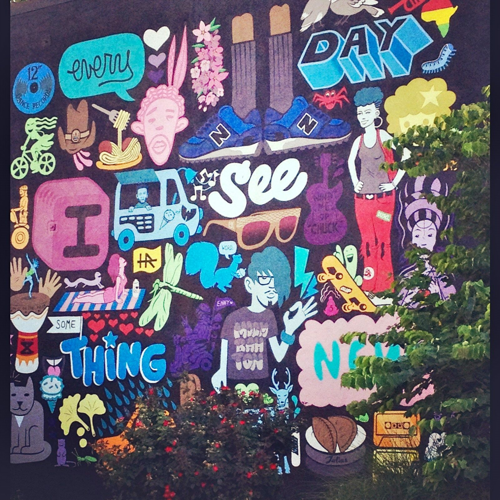 Art Places In Washington Dc: #Art Is All Around You. Graffiti In Adams Morgan In
