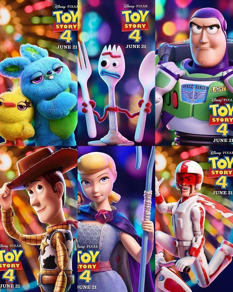Novos Posteres De Toy Story 4 Amigo Estou Aqui