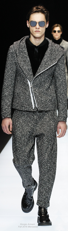 Giorgio Armani Fall 2016 Menswear