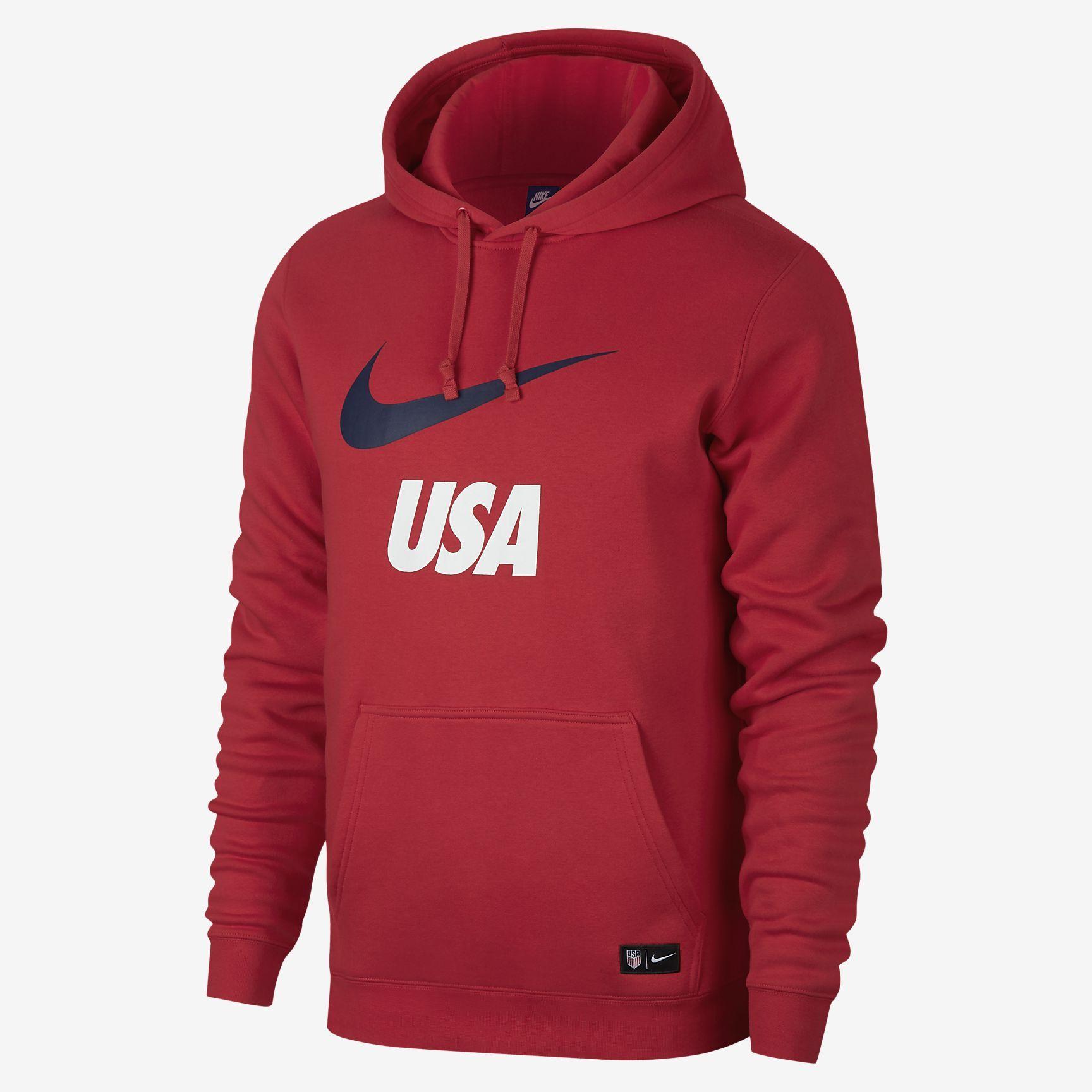 Nike U.S.A. Men's Pullover Hoodie Hoodies men pullover