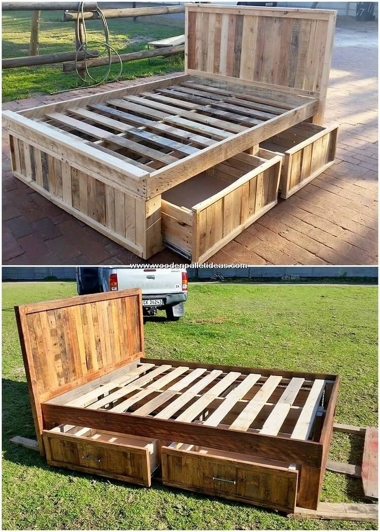Photo of Fabulous Creations Made with Used Wood Pallets – Wooden Pallet Ideas