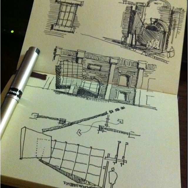Process sketch | what's old is new again: adaptive reuse architecture