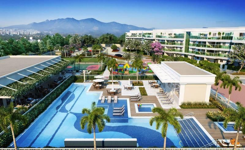 An amazing project on Av. Projetada A, Barra da Tijuca, Rio de janeiro. 2, 3, and 4 bedroom apartments from 74 to 174m². Garden suites and penthouses are also available. Luxurious amenities such as Pool, Pool Bar, Spa, Sauna, Fitness, Fountains, Playground and more. Contact us for floor plans and to register for this spectacular project by Queiroz Galvão! Let's get started with your purchase today! http://riomaravilha.net/realestate/listings/barra-village-prime/