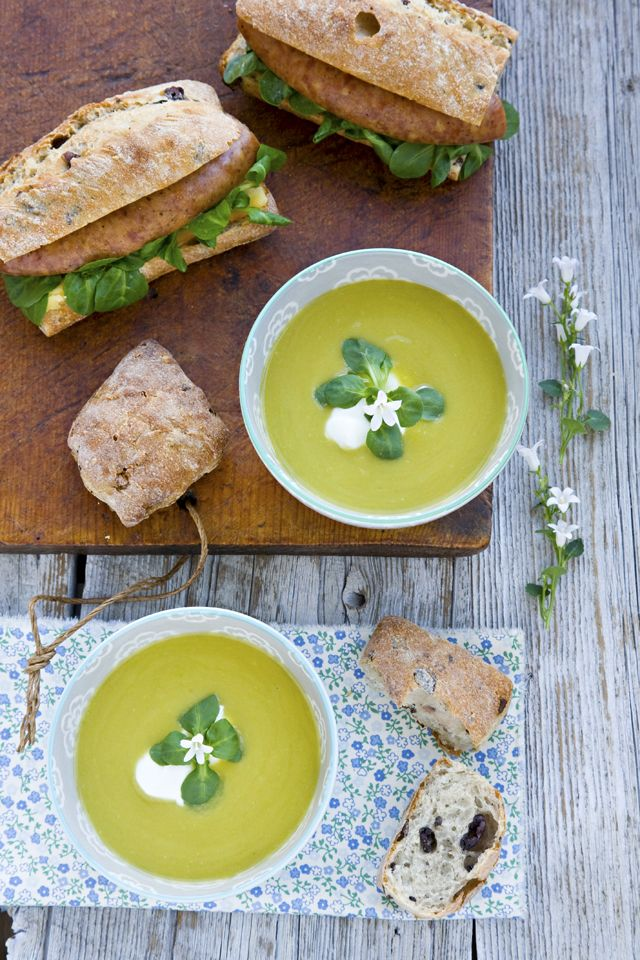 Fennel and Green Pea Soup from @Jen Laceda