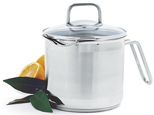 Norpro 650 8 Cup Multi Pot With Straining Lid 1 9 Liter Silver In 2020 Kitchen Dining Stainless Steel Steel