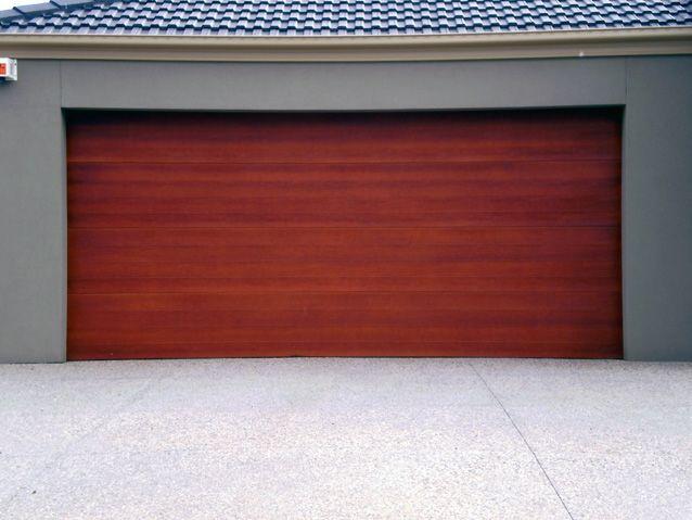 Caoba Garage Doorg 638479 Facade Garage Pinterest