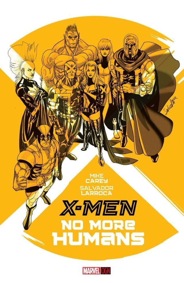 X Men No More Humans X Men Comics Graphic Novel Cover