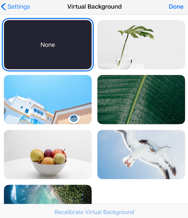 Using Virtual Background In A Zoom Room Zoom Help Center Virtual Background Solid Color Backgrounds