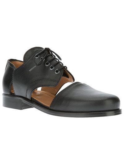 Men - Accessories - Minimarket Cut-Out Leather Shoe - Henrik Vibskov boutique - Online Store