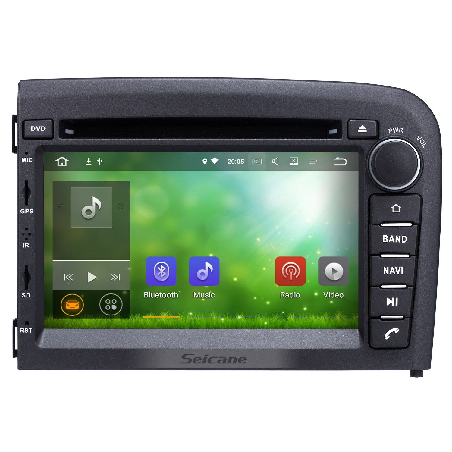 Krando Android 7 1 Car Radio Dvd Multimedia For Volvo S60: Seicane Android 7.1 GPS Navigation Car Stereo Audio System