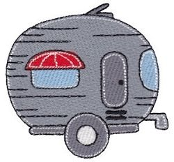 Trailer Filled Design - 4X4! | Camping | Machine Embroidery Designs | SWAKembroidery.com Bunnycup Embroidery