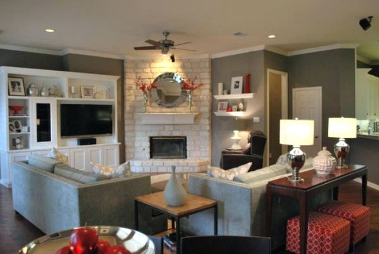 Arrange Furniture Around A Corner Fireplace Google Search Living