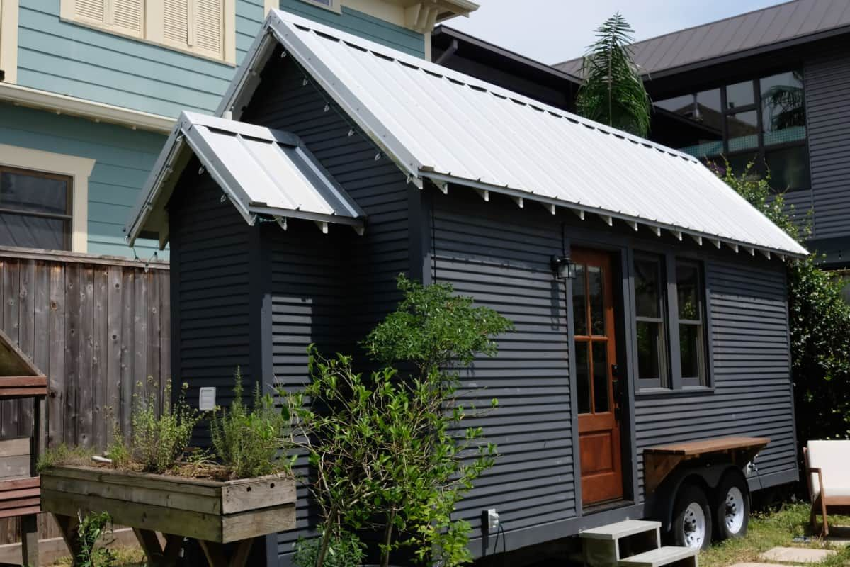 Rustic Minimal Tiny House On Wheels Tiny House For Sale In